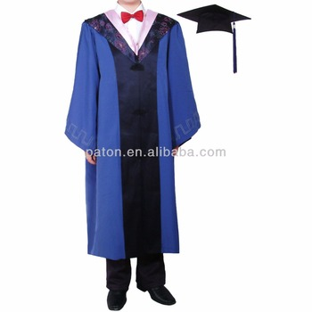 Latest New Design School Graduation Gown - Buy Latest Design Simple ...