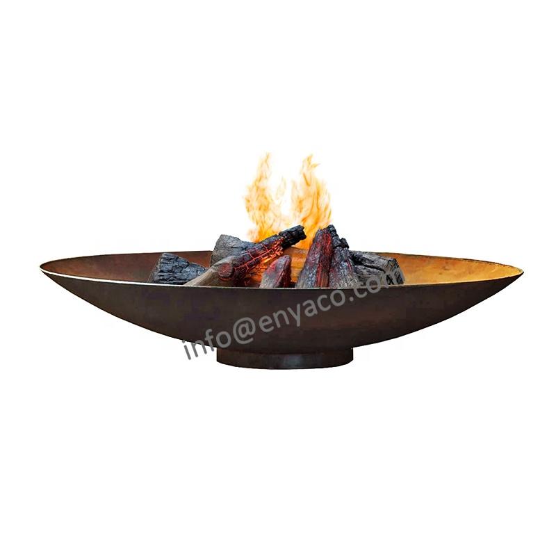आउटडोर स्टील अग्निकुंड