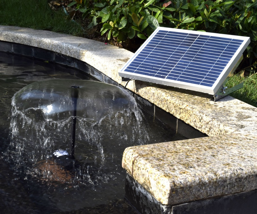 solar water fountain 10W outdoor garden solar decoration fountain