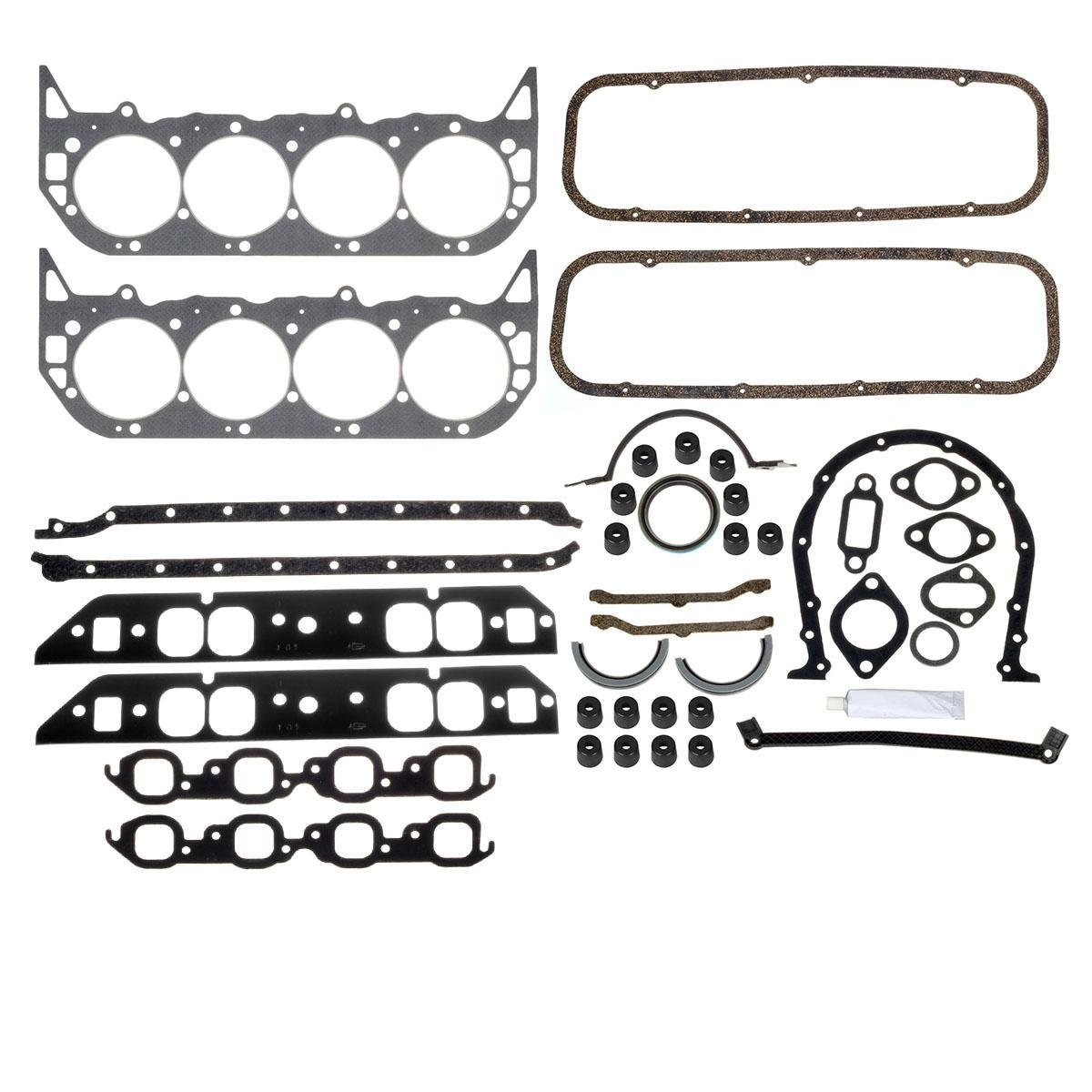Big Block Chevy Engine Overhaul Gasket Kit 396 427 454 BBC /260-1009 for 1965-1975 Chevrolet Bel Air,for 1975-1978 GMC C25 Pickup,for 1965-1970 Pontiac Strato-Chief,for 1968-1974 GMC K35/K3500 Pickup