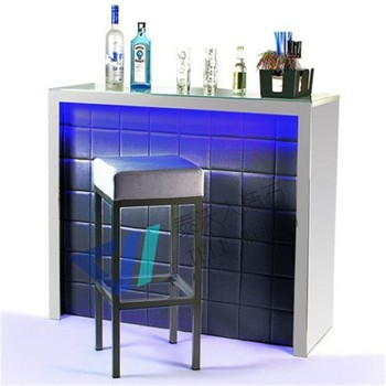 Custom Fancy Modern Home Mini Bar Counter Design For