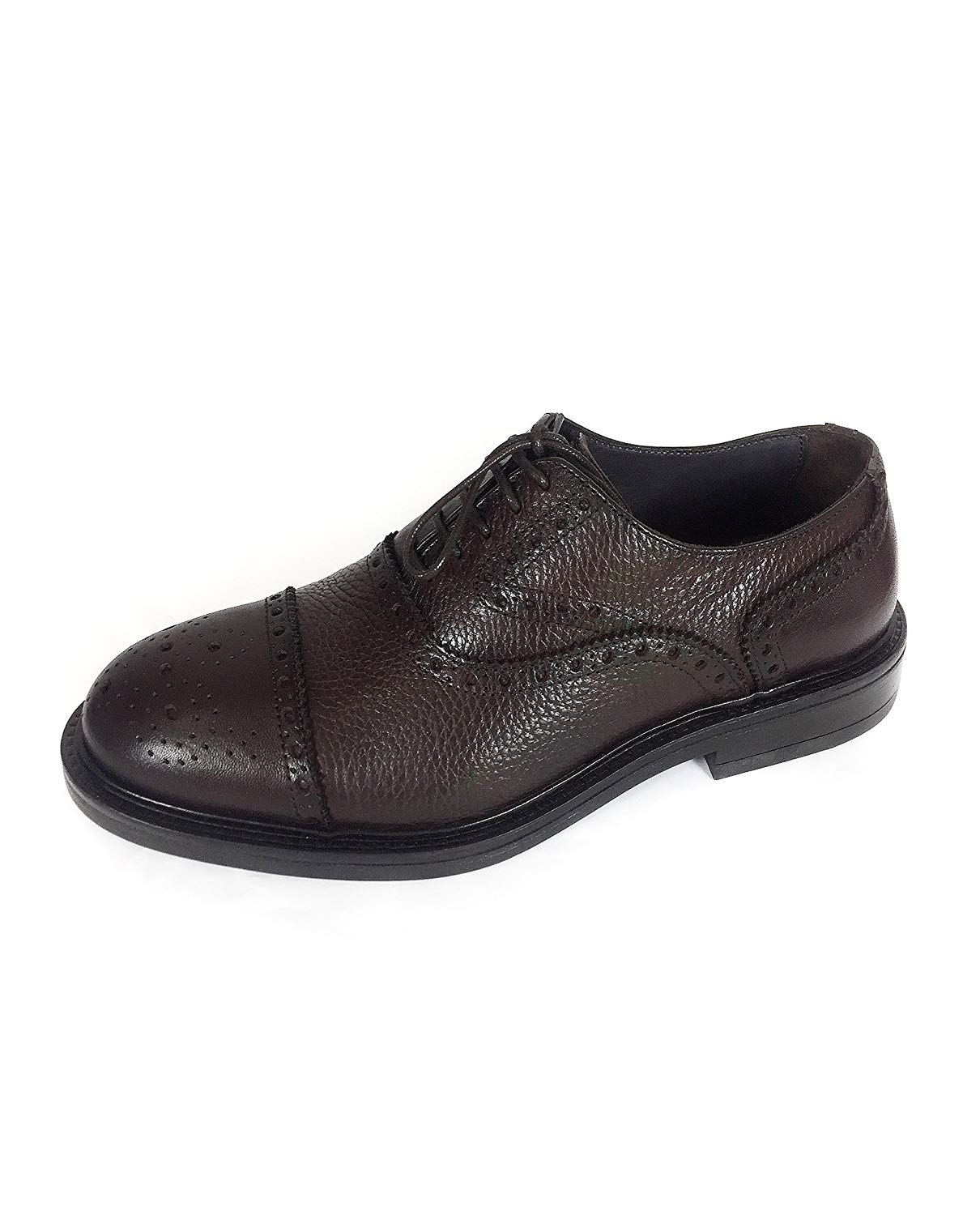bc8c4d0bd Buy Massimo Dutti Men Brown nappa leather oxford shoes 8209/222 (43 ...