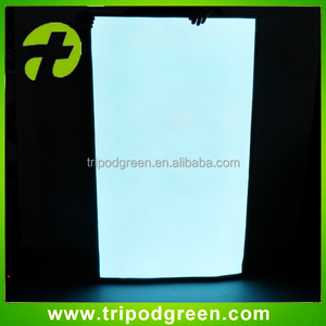 Large size white color flashing indoor outdoor el backlight sheet/el backlight panel
