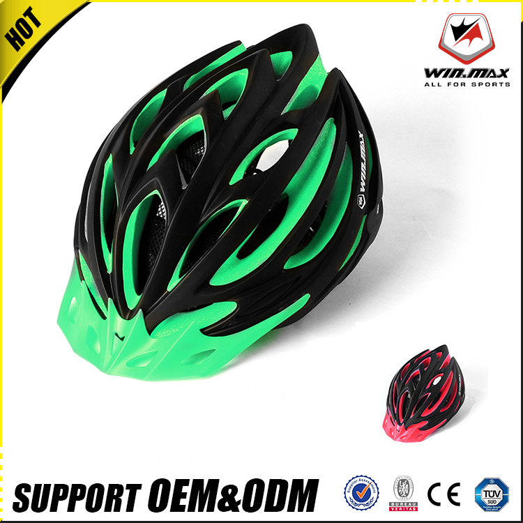 Outdoor sports popular of fashionable strong dual adult bicycle helmet for road racing