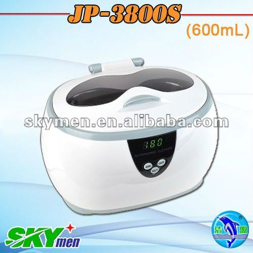Deluxe nail ultrasonic cleaner JP-3800S,digital,600ml