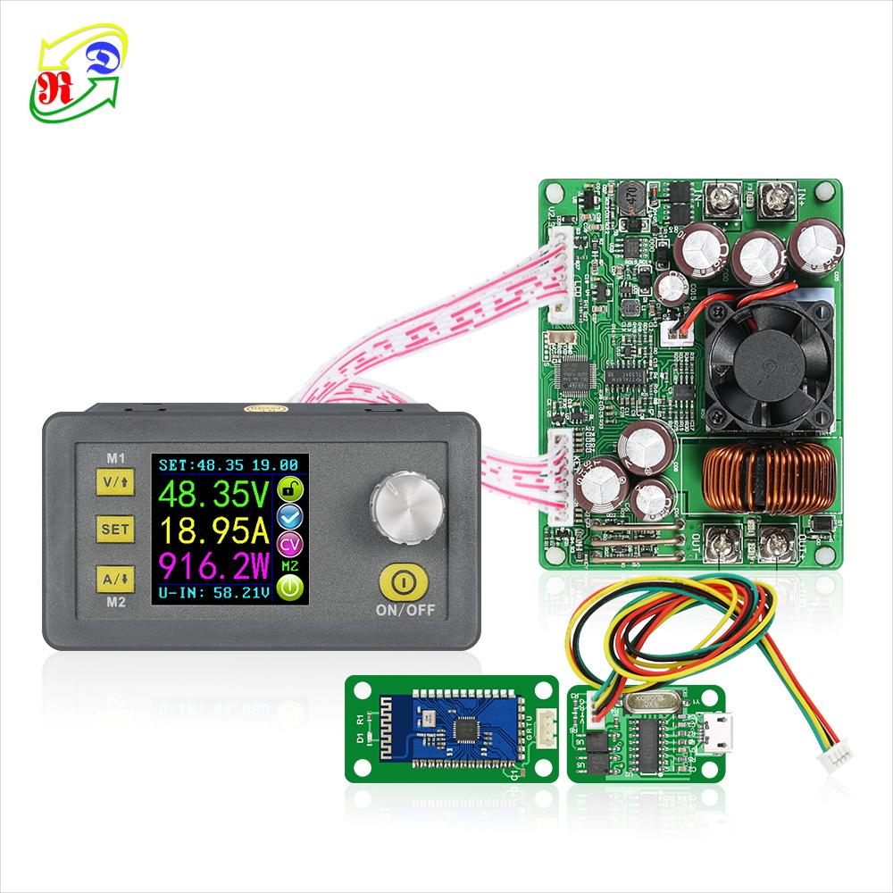 RD DPS5020 USB Bluetooth sabit gerilim akım adım aşağı dc dc dönüştürücü 50V 20A 1000w dijital ayarlanabilir dc güç kaynağı