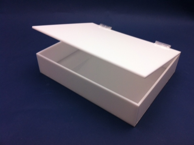 New design acrylic box with lid in various color with high quality and low price