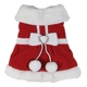 Christmas Red Dog Cat Stanta Claus Dress Warm Winter Clothes