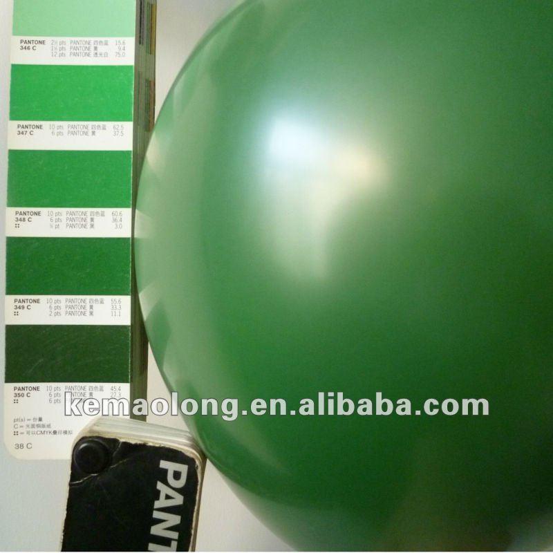 Custom Pantone Standard Green Color,Pms 349 C Balloon