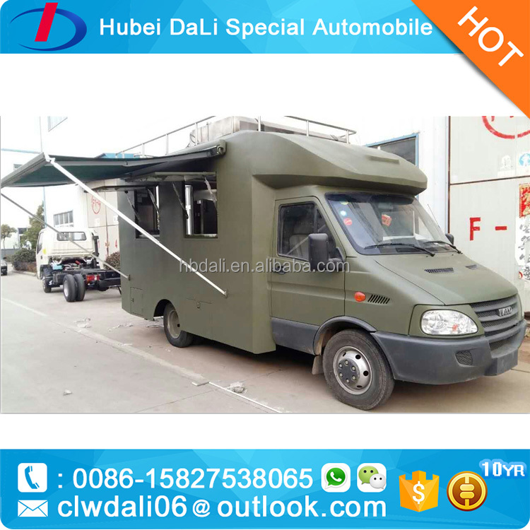 new condition 4*2 2016 right hand frive iveco food truck for sale