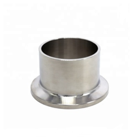 High Quality Stainless Steel 304 316L Sanitary Fitting Sanitary Weld Clamp Ferrule