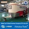 High quality controlled horse float,Sofa angle load extension horse float,Custom horse trailer