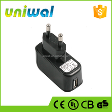 usb wall charger, oem factory price 5w 5v 1a ac to dc usb power adapter with Korea Plug
