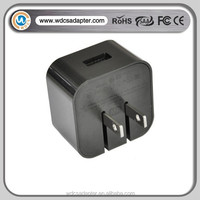 fashion design Foldable usb travel charger ac dc adapter with cable OEM logo free