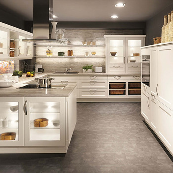 Creative Design Modern Kitchen Cabinets Glass Railing System Buy