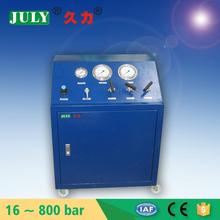 High quality JULY model : JLS-GBT 7/25 double action Pneumatic pump system for pressure testing equipment