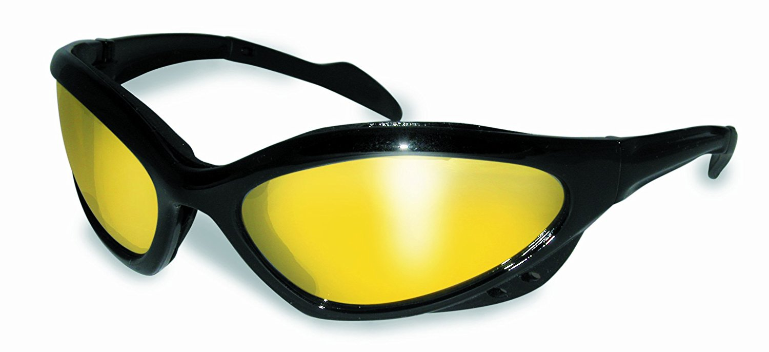 3300d07af047 Global Vision Neptune Safety Glasses With Yellow Tint Mirrow Lenses Meet  ANSI Z87.1+