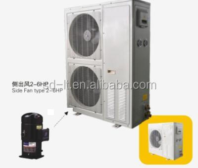 JZQ Series Box Type Copeland Hermetic Compressor Air Cooled Condensing Unit for Cold, Freezer, Quick-Freezing Storage Rooms