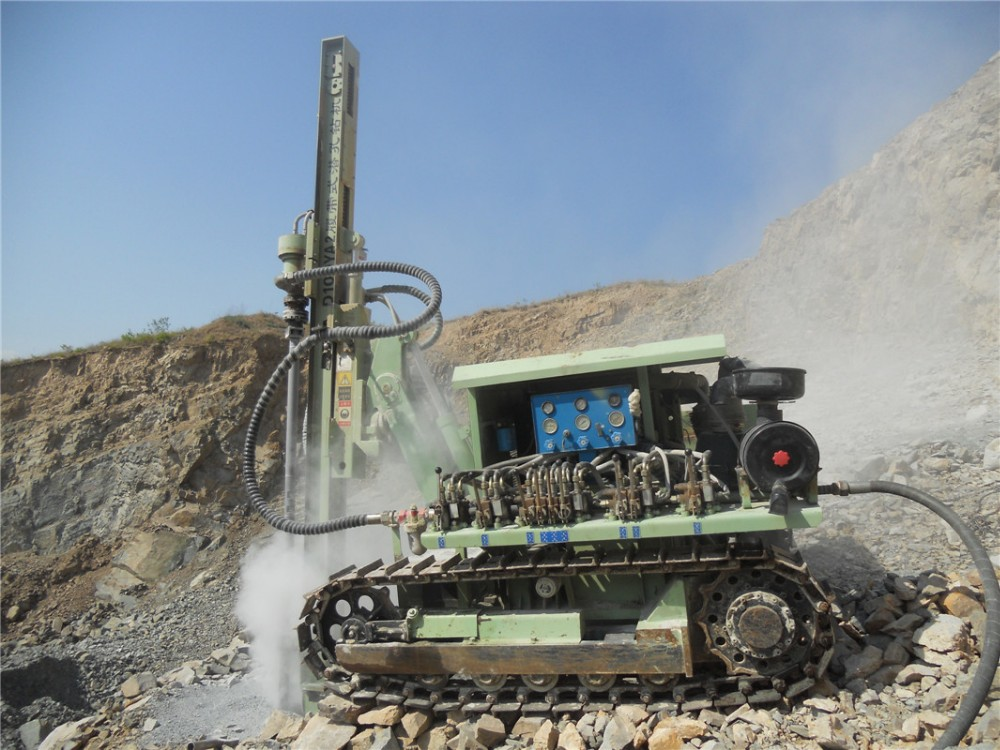 D100YA2-2 All Series Dth Blast Hole Drill Rig Down The Hole Water Well Drilling Machine