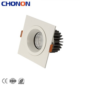 Recessed Mounted Narrow Beam Angle UGR<17 10W Lamp COB LED Spotlight