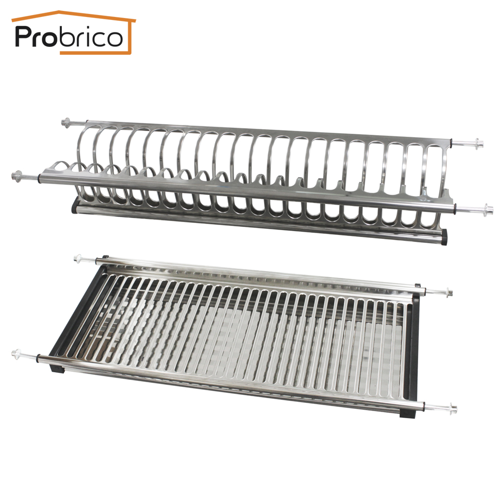 stainless steel dish drying rack for width 665mm kitchen cabinet dra0170 cupbpard plate storage. Black Bedroom Furniture Sets. Home Design Ideas