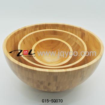 Fda Lfgb Standard China Bambus Salat Schussel Set Gunstige Salat