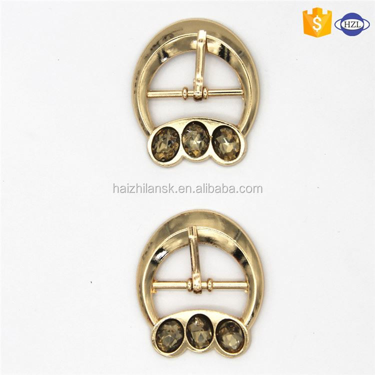 New coming unique design western pin turning buckle for belt zinc alloy with many colors