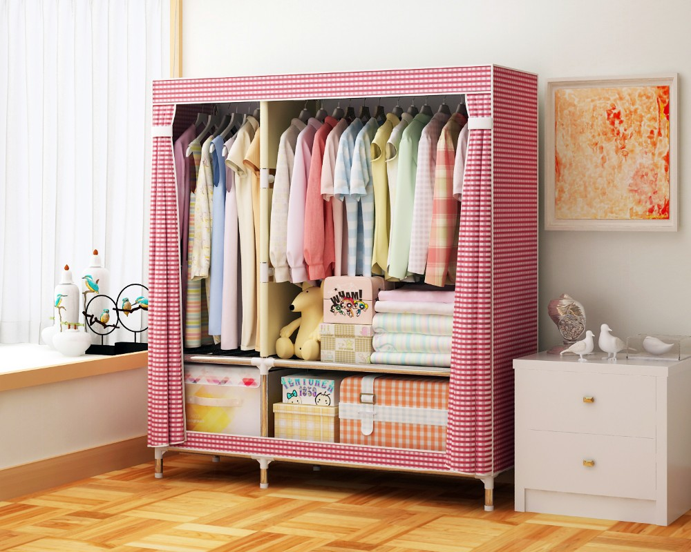 Small size kids bedroom furniture cheap wardrobe closet for Cheap kids bedroom furniture