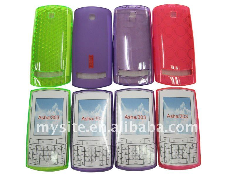 Cell Phone TPU case for Nokia Asha 303 n303