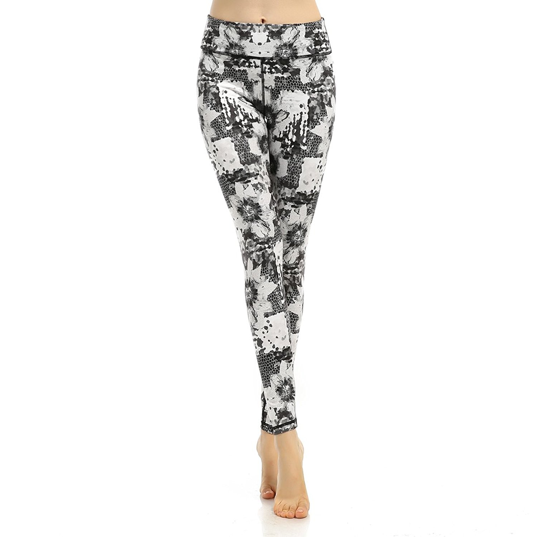 928ecc7d738cb Buy Souteam Womens Active Long Tights Yoga Running Pants Workout ...
