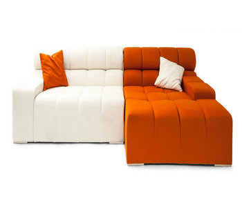 Tufty Time Fabric Sofa Modern Corner Seater Lazy Sofabed For Living Room
