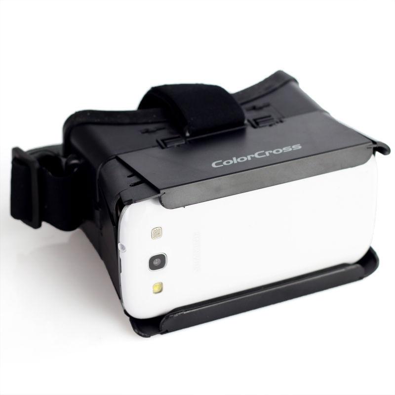 4cd5d8821564 Buy Google Cardboard colorcross 3D Video Glasses Universal Google Virtual  Reality for 4~6