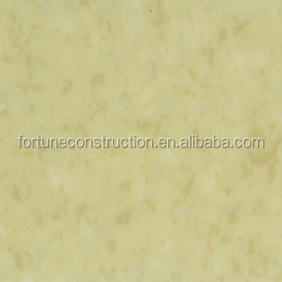 Light Yellow Color pvc plastic flooring rolls/colorful pvc vinyl floor/pvc floor sheet