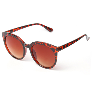 On Stock Wholesale Classical Acrylic Material Ladies Female Brown Tortoise Color Luxury Sunglasses