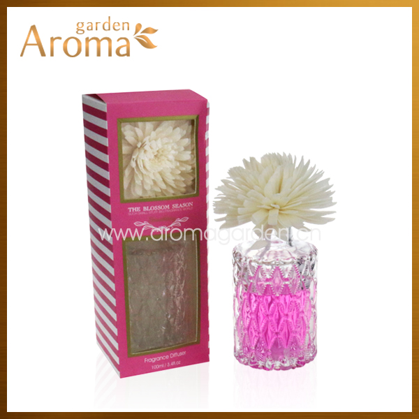 2014 Hot sales 100ml clay flower diffuser