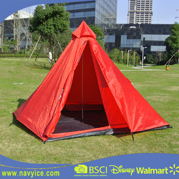 Wholesale Easy Setup Lightweight C&ing Teepee Tent Outdoor Backpacking 3 Season Tipi Tent Party & Wholesale Easy Setup Lightweight Camping Teepee Tent Outdoor ...