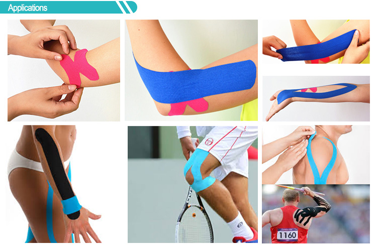 Pro Strength Kinesiology tape teal  Sports Athletic Kinesiology Tape