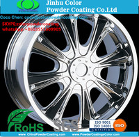 SGS certified chemical resistant chrome paint for wheels