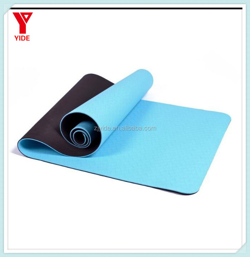 183x61cmx 6mm Thick TPE Yoga Mats <strong>Fitness</strong> Environmental Tasteless Lose Weight Exercise <strong>Fitness</strong> Yoga Gymnastics Mats Indoor