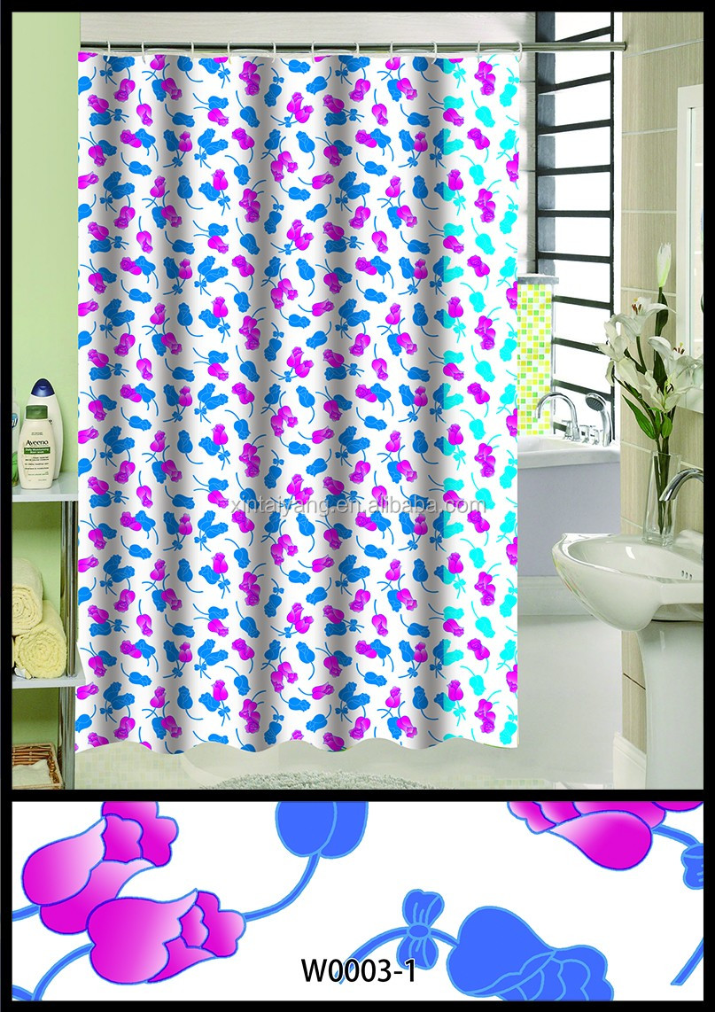Wholesale Double Swag Shower Curtain With Valance Buy