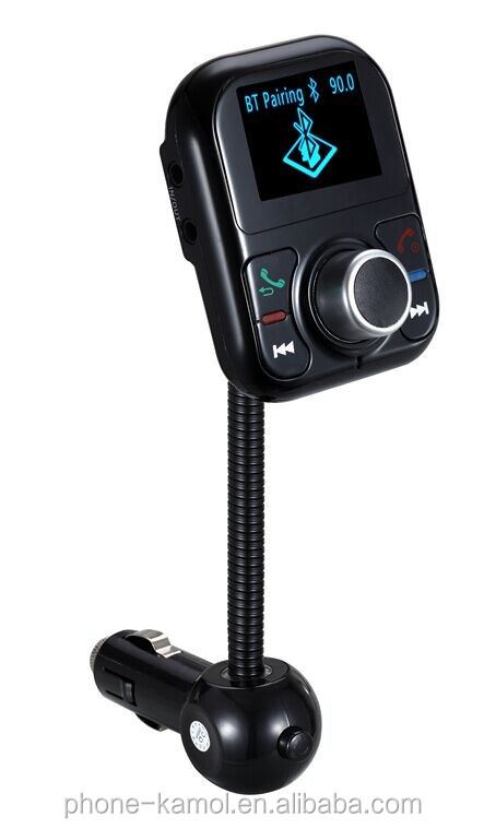 Stylish Handsfree car FM transmitter with MP3 player
