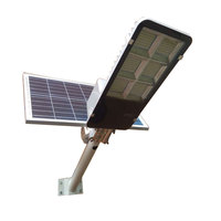 Remote Control Led Outdoor Lighting Garden Ip65 Manufacturer Pole Smd Sensor Lamp Light High Power Integrated Solar Street Light