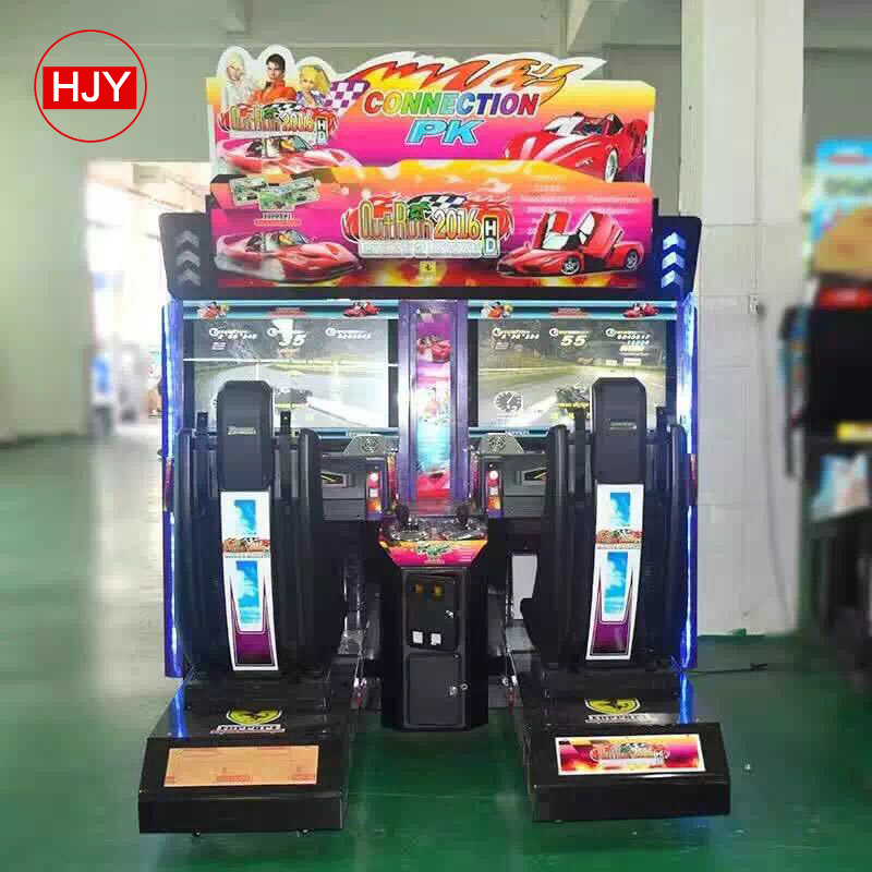LED coin operated happy basketball machine kids shooting simulator lottery