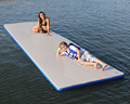 Durable inflatable gymnastics mats for sale floating mat with surfboard track