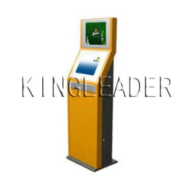 standard Dual Display touch screen Kiosk display Applications for office building