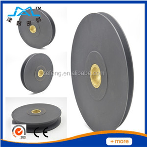 different kinds of plastic POM pulley wheel