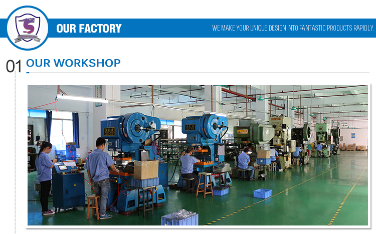 China customized metal clips fasteners manufacturing