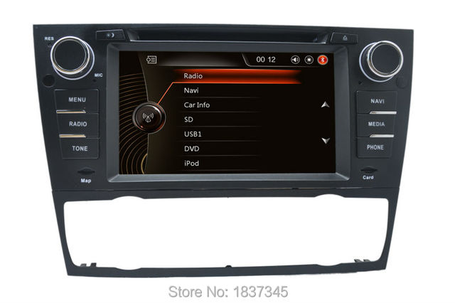 car dvd radio gps navigation for bmw e90 saloon e91. Black Bedroom Furniture Sets. Home Design Ideas