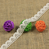 // new arrival cotton lace small floral border // crochet trimming lace for dress //