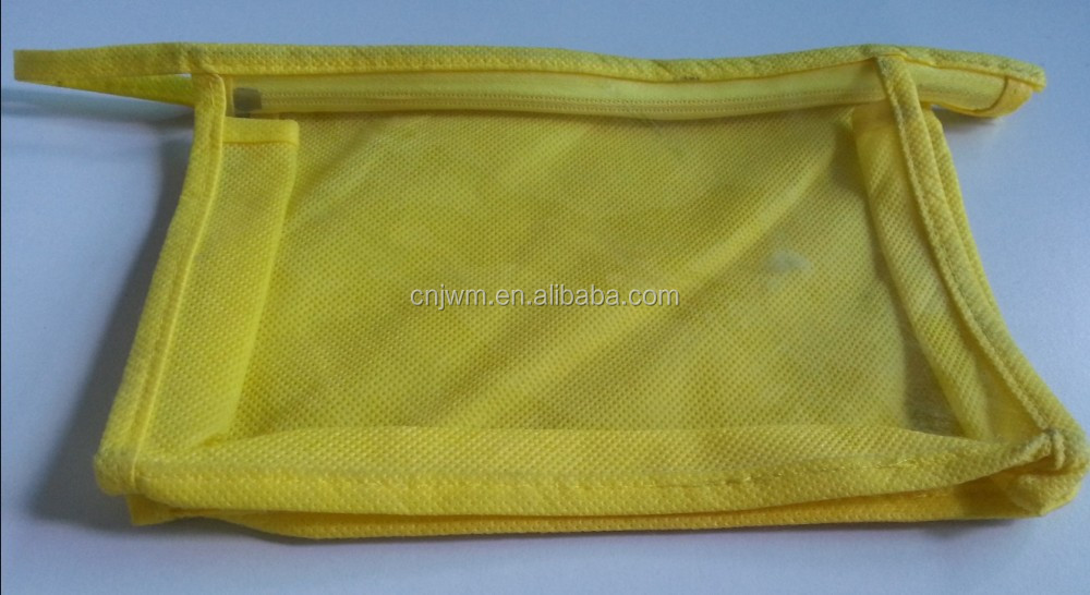 Stand up pvc packaging pouch with zipper